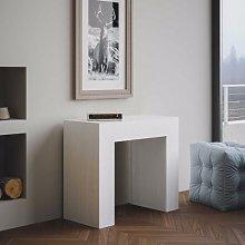 Consolle allungabile Box Bianco Frassino