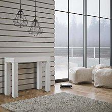 Consolle allungabile Magic Color Bianco Frassino