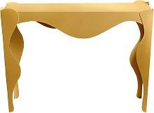Consolle dallo stile ricercato Isotta Oro