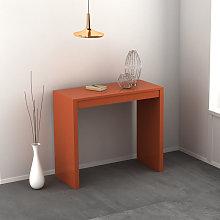 Consolle Demetra allungabile colore arancio chiaro
