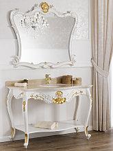 Consolle e specchio Eleonor stile Barocco Decape
