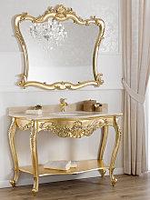 Consolle e specchio Eleonor stile Barocco Francese