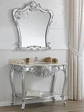 Consolle e specchio Eleonor stile Barocco Moderno