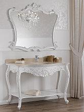 Consolle e specchio Eleonor stile Shabby Chic