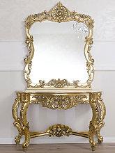 Consolle e specchio Laia stile Barocco Francese
