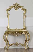 Consolle e specchio Rosa Maria stile Barocco