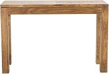 Consolle in massello di legno di sheesham L 120 cm