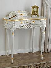 Consolle Kendra tavolino 2 cassetti stile Barocco