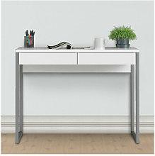 Consolle scrivania bianca laccata dimensioni