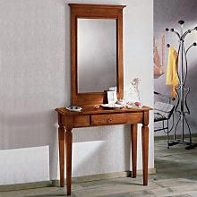 Consolle semplice con specchiera
