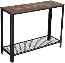 Consolle Tavolo da ingresso Stile Industriale