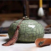 Contenitore in ceramica in stile retrò, per tè,