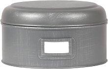 Contenitore per Alimenti 22x12 cm L - Grigio -