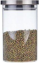 Contenitore per cereali Vasetti in vetro con
