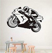 Cool Rider Racing Moto Adesivi Murali Sport