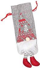 Coperchio per bottiglia di vino di Natale Gnomo