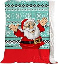Coperta Babbo Natale rosso di Natale, Coperta di
