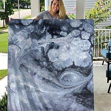 Coperta in pile di flanella ultra morbida marble