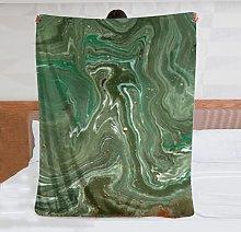 Coperta in pile di flanella ultra morbida marbled