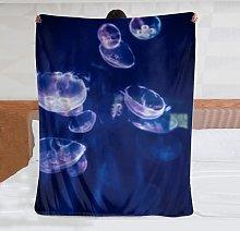 Coperta in pile di flanella ultra morbida medusa