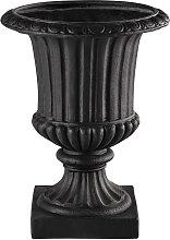 Coppa da giardino grigio antracite in resina H 71