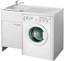 Coprilavatrice 109x60 con lavatoio annesso
