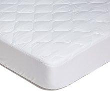 Coprimaterasso Comfort antiacaro Singolo Cotone