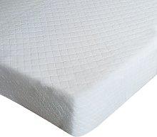 Coprimaterasso in cotone per letto singolo e