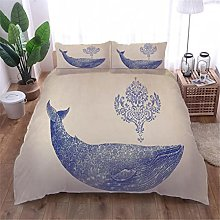 Copripiumino balena Biancheria da letto Ragazzi