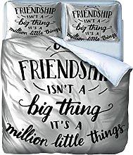Copripiumino Bella amicizia Biancheria da letto