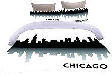 Copripiumino Bella Chicago Biancheria da letto