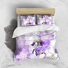 Copripiumino Fiore viola Biancheria da letto