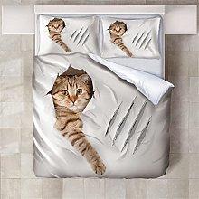 Copripiumino Gatto cattivo Biancheria da letto