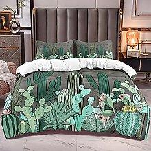 Copripiumino Matrimoniale 260x240 cm ( Cactus ),