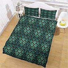 Copripiumino Modello verde Biancheria da letto