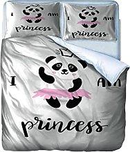 Copripiumino Panda Biancheria da letto Ragazzi