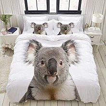 Copripiumino, Ritratto di Koala maschio, Set
