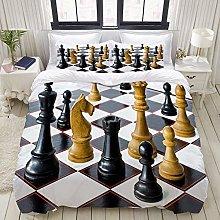 Copripiumino, scacchi internazionali di gioco di