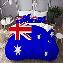 Copripiumino, set copripiumino Flag of Australia,