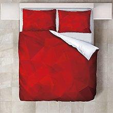 Copripiumino Triangolo rosso Biancheria da letto