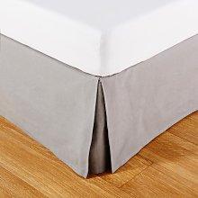 Coprirete 140x190 in cotone grigio