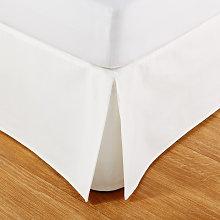 Coprirete 160x200 in cotone avorio