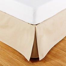Coprirete 180X200 in cotone beige