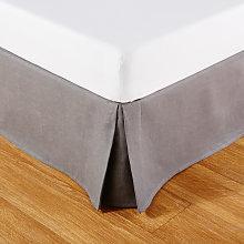 Coprirete 90x190 in lino grigio