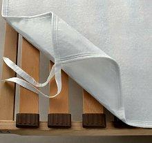 Coprirete con ganci o lacci per letto Matrimoniale