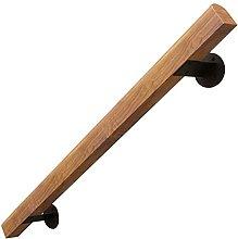 Corrimano in legno con set completo, ringhiera per