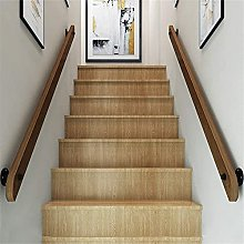 Corrimano in legno massello per scale, ringhiera