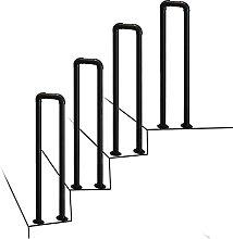 Corrimano per gradini antiscivolo a forma di U 1