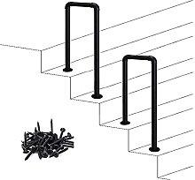 Corrimano per gradini esterni Ringhiera per scale