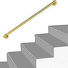 Corrimano per scale con maniglione in metallo per